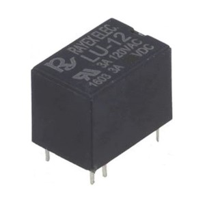 Relais elektromagnetisch SPDT USpule 12VDC 3A/120VAC