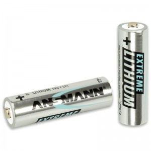 Ansmann Extreme Lithium Batterie Mignon AA 2er Blister