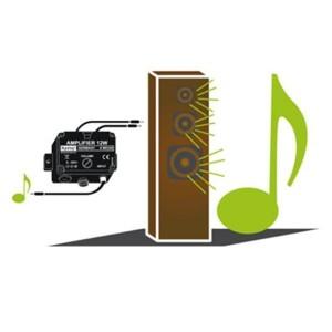 """Kemo MO32S Universal Verstärker 12 W """"Plug & Play"""""""