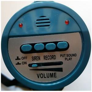 Megafon-Allround Aufnahme-/Wiedergabefunktion Sirene Schultergurt