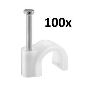 100x Kabelschelle für max. 7mm Ø