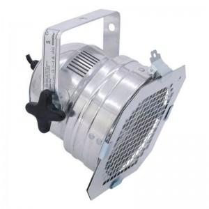 Eurolite® PAR-56-Gehäuse mit Kabel und Gitterfilterrahmen silber