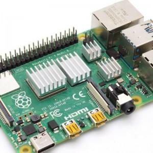 4 teiliges Kühlkörper Set für Raspberry Pi 4