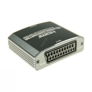 Scart zu HDMI Konverter Umwandler 720p/1080p