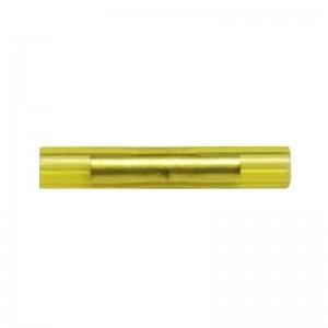 Stoßverbinder Messing verzinnt isoliert 0,1-0,5mm²