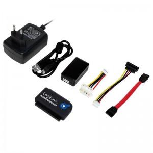 """Adapter USB 2.0 zu 2,5"" + 3,5"" IDE + SATA HDD OTB"" von LogiLink"
