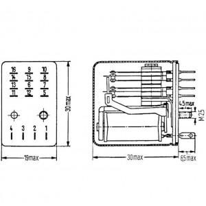 Siemens AG Kammrelais® V23162-B722-B610
