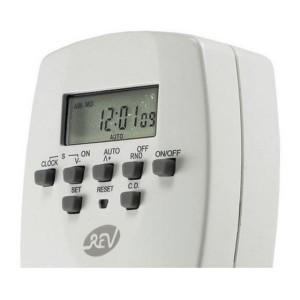 REV digitale Wochen-Zeitschaltuhr 230V/1800W