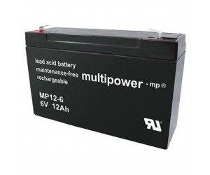 Multipower MP12-6 Bleiakku 6V 12Ah