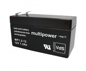 Multipower MP1,2-12 Bleiakku 12V 1,2Ah