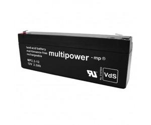 Multipower MP2,2-12 Bleiakku 12V 2,2Ah