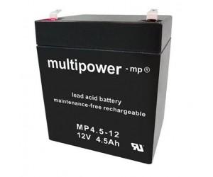 Multipower MP4,5-12 Bleiakku 12V 4,5Ah