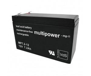 Multipower MP7,2-12 Bleiakku 12V 7,2Ah
