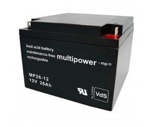 Multipower MP26-12 Bleiakku 12V 26Ah
