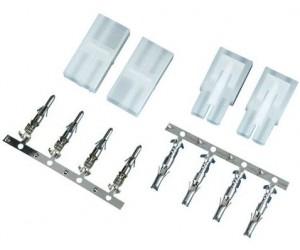 Profitec® Tamiya-Steckerbausatz Stecker und Kupplung 2 Paar