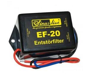 Sinuslive EF-20 Entstörfilter 20A Störgeräuschfilter