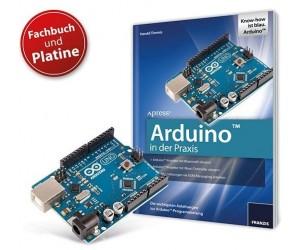 Arduino-Bundle Fachbuch & Arduino-Uno-Platine