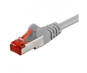 CAT6 Netzwerkkabel 0,5m S/FTP 2xRJ45 PIMF doppelt geschirmt