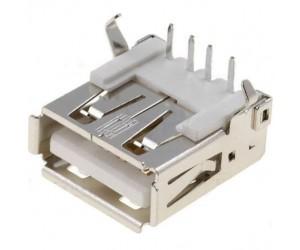 USB-A-Buchse 90° abgewinkelt Printmontage