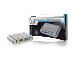 2 Port PS/2 KVM Switch+USB bei mükra electronic