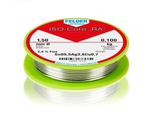 Felder ISO-Core® Lötdraht Ø 1,5mm 100g bleifrei