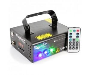 BeamZ Surtur II Double Laser RG Gobo DMX IRC 3W Blue LED