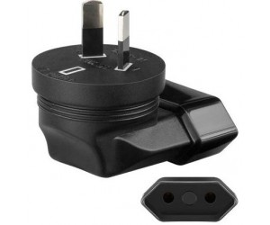 Reisestecker Adapter Eurobuchse Australischer Stecker