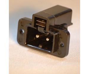 Einbausteckdose für Kleinspannung mit Schalter bei mükra electronic