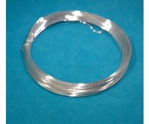 Kupferdraht versilbertz Ø 0,8mm² 25m Ring