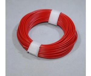 Litze1X0,14,rt/10 Kupferschaltlitze 1x0,14mm² Preis = 10m Ring