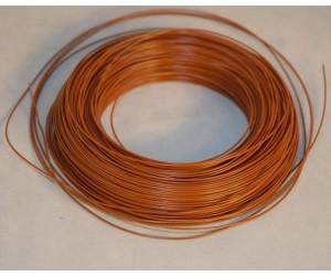 LIYV0,14braun PVC-Schaltlitze 0,14 / 1,1mm²