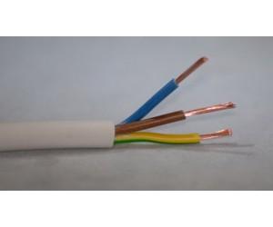 PVC-Schlauchleitung 3x0,75mm² Meterware