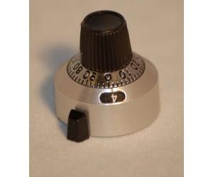 IMT6,35 Skalendrehknopf für 10-Gang-Potentiometer