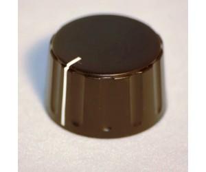 DKN2856SW Geräteknopf für 6mm Achsen 28,5mm schwarz