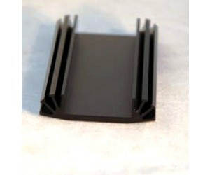 Profilkühlkörper 12,2K/W 50x100x12mm schwarz