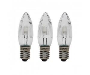 LED-Topkerze 3er-Blister warmweiss E10 8-55V 0,1-0,2W