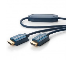 Clicktronic® Casual Aktives HDMI™ Kabel mit Ethernet 35m