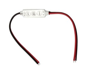 LED-Controller offene-Kabelenden 12-24V LED-Dimmer5A/mini