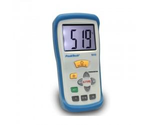 PeakTech® 5115 Digital-Thermometer ~ 2 CH ~ Typ-K ~ -50 ... +1300°C ~ mit °C/°F Anzeige