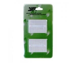 Wanjie electronic 2x BB-601 Mini-Laborsteckboards mit je 170 Kontakten