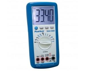 PeakTech® 3340 Digitalmultimeter ~ 4.000 Counts ~ 600V AC/DC ~ 10A AC/DC Auto-Range