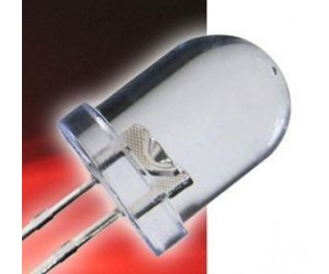 LED 8mm rot 7000mcd bei mükra electronic