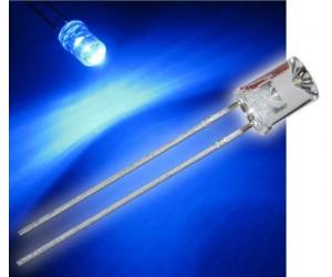 LED 5mm, konkav, blau bei mükra electronic