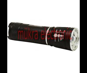 EGB Leistungsstarke Aluminium LED Taschenlampe 3W fokussierbar
