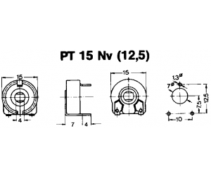 PT15NV, alle Werte