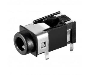 Einbaubuchse stereo für 3,5mm-Klinkenstecker bei mükra electronic