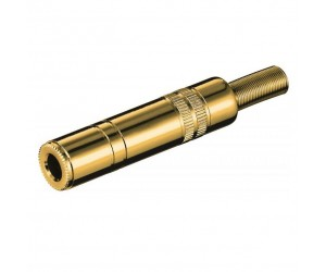 KS 63 KG Klinkenkupplung - 6,35 mm - stereo bei mükra electronic