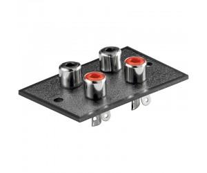 Cinch-Einbaubuchsenplatte bei mükra electronic