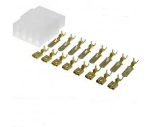 Mehrfachsteckverbinder-Set 6-polig bei mükra electronic