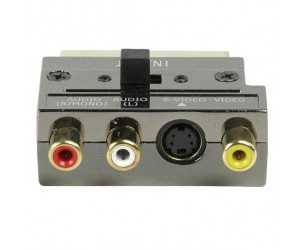 Scart Adapter mit vergoldeten Kontakten bei mükra electronic
